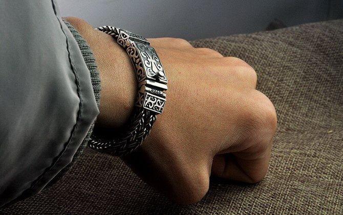 Серебряные браслеты как часть вашего образа 4
