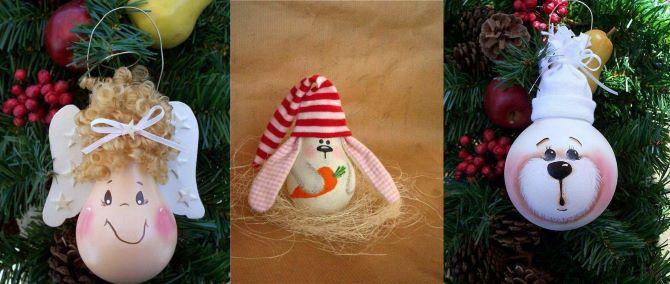 Вуличні новорічні іграшки своїми руками 3
