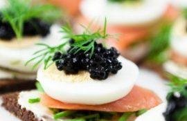 Апетитна закуска – бутерброди для новорічного столу