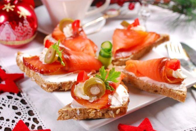 Апетитна закуска – бутерброди для новорічного столу 15