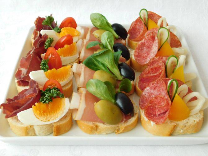 Апетитна закуска – бутерброди для новорічного столу 16