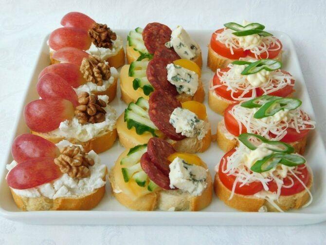 Апетитна закуска – бутерброди для новорічного столу 17
