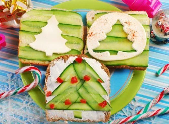 Апетитна закуска – бутерброди для новорічного столу 18