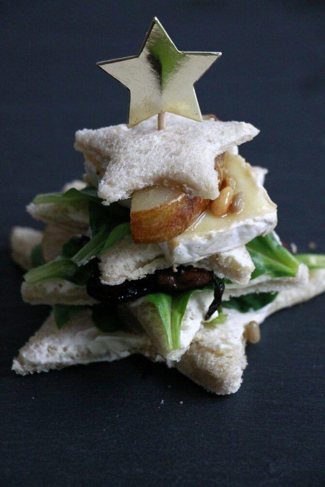 Апетитна закуска – бутерброди для новорічного столу 1