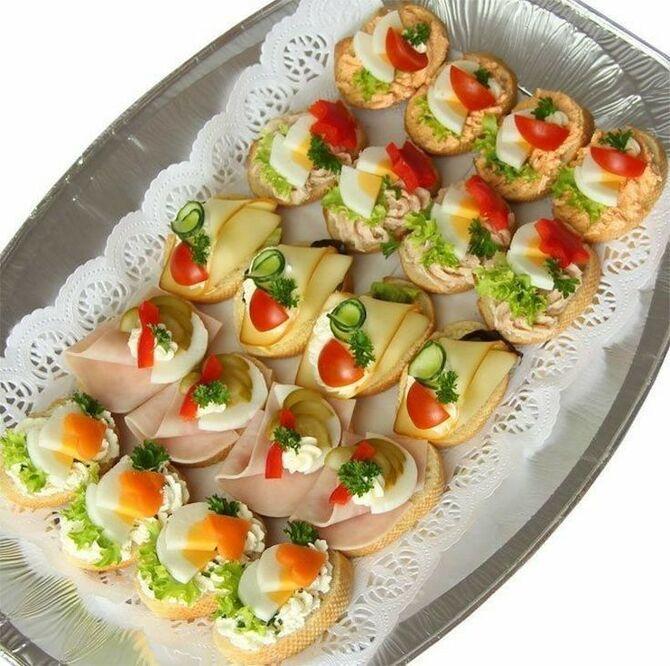 Апетитна закуска – бутерброди для новорічного столу 21