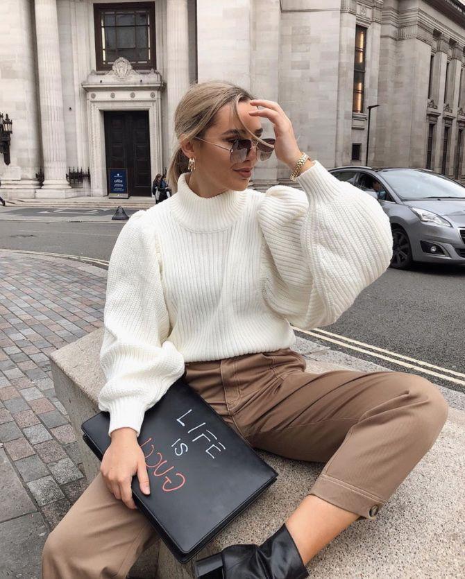 Кашеміровий светр – новий тренд холодного сезону 18