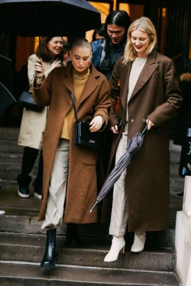 Шоколадні відтінки в моді: як їх носити взимку? 11