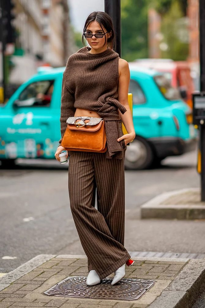Шоколадні відтінки в моді: як їх носити взимку? 12