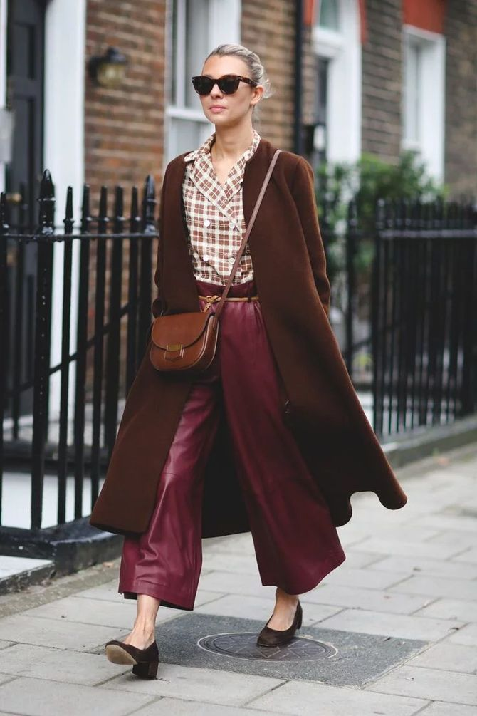 Шоколадні відтінки в моді: як їх носити взимку? 16