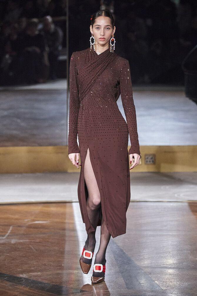 Шоколадні відтінки в моді: як їх носити взимку? 2
