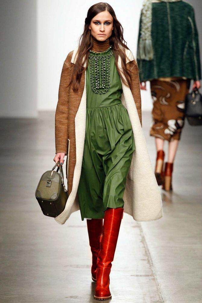Шоколадні відтінки в моді: як їх носити взимку? 19
