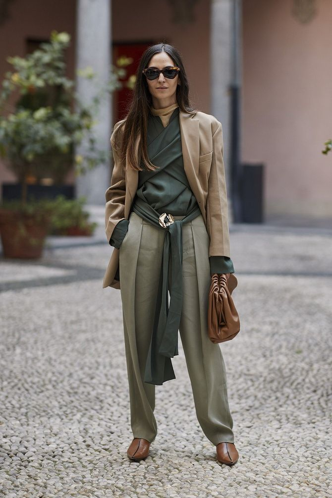 Шоколадні відтінки в моді: як їх носити взимку? 20