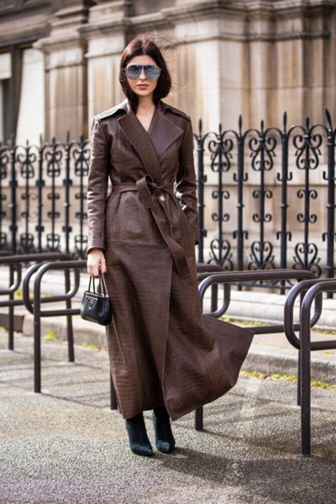 Шоколадні відтінки в моді: як їх носити взимку? 28