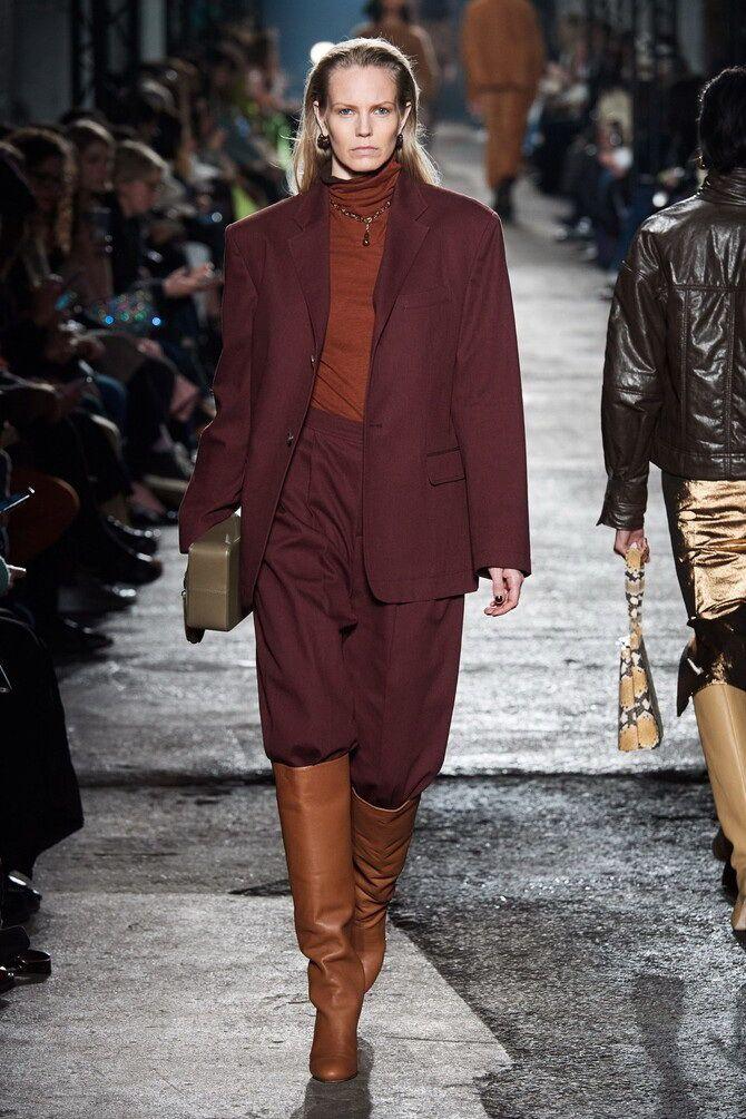 Шоколадні відтінки в моді: як їх носити взимку? 3