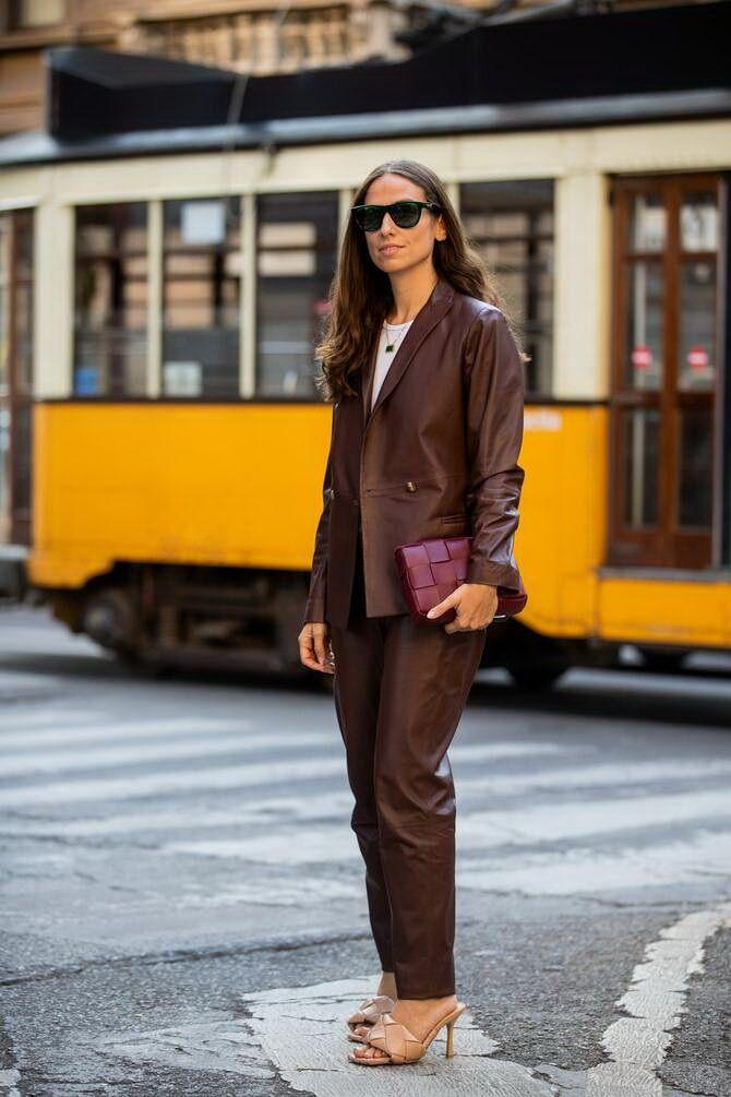 Шоколадні відтінки в моді: як їх носити взимку? 35