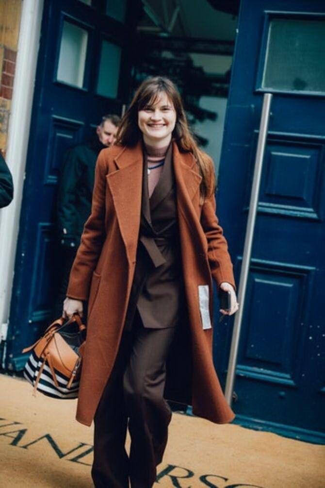 Шоколадні відтінки в моді: як їх носити взимку? 33