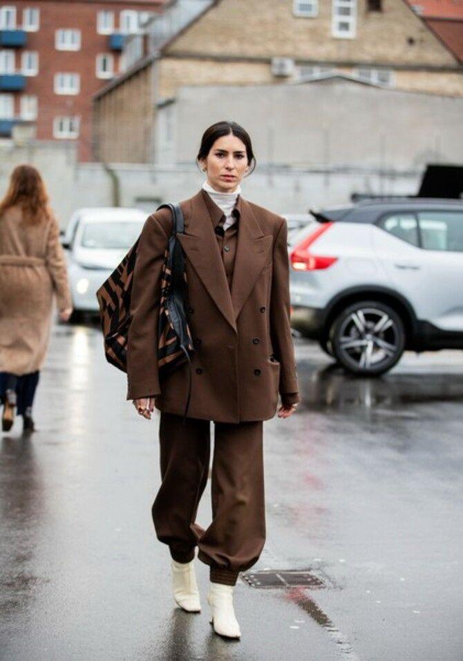 Шоколадні відтінки в моді: як їх носити взимку? 34