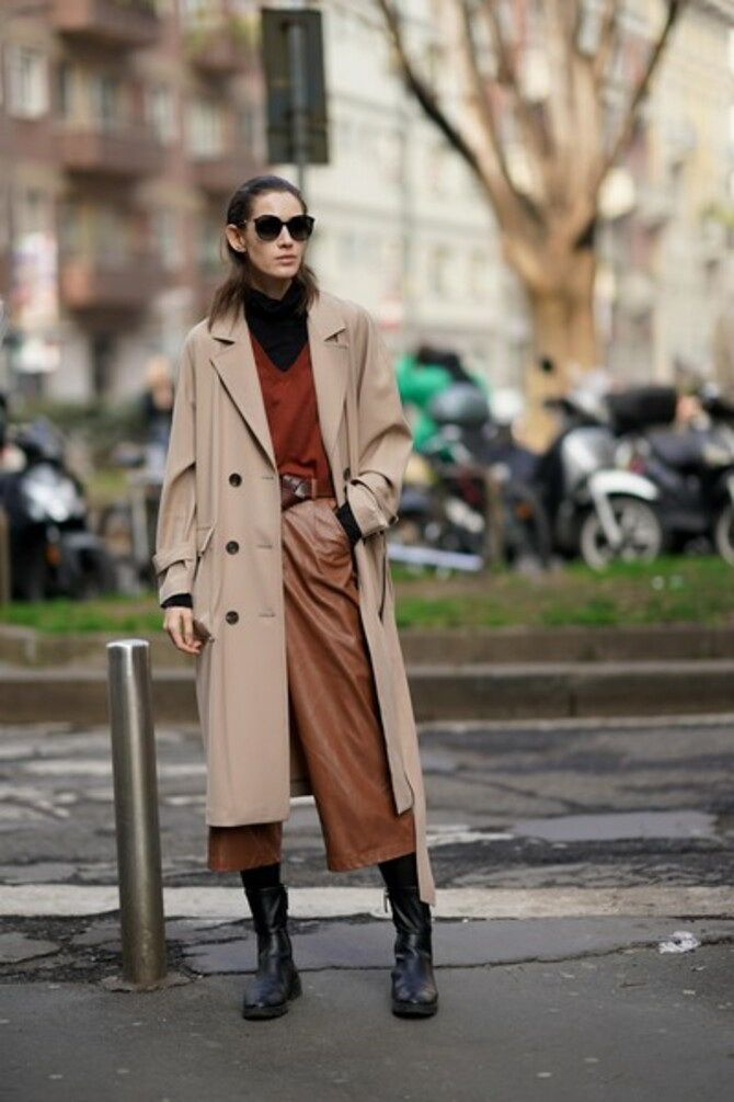 Шоколадні відтінки в моді: як їх носити взимку? 37