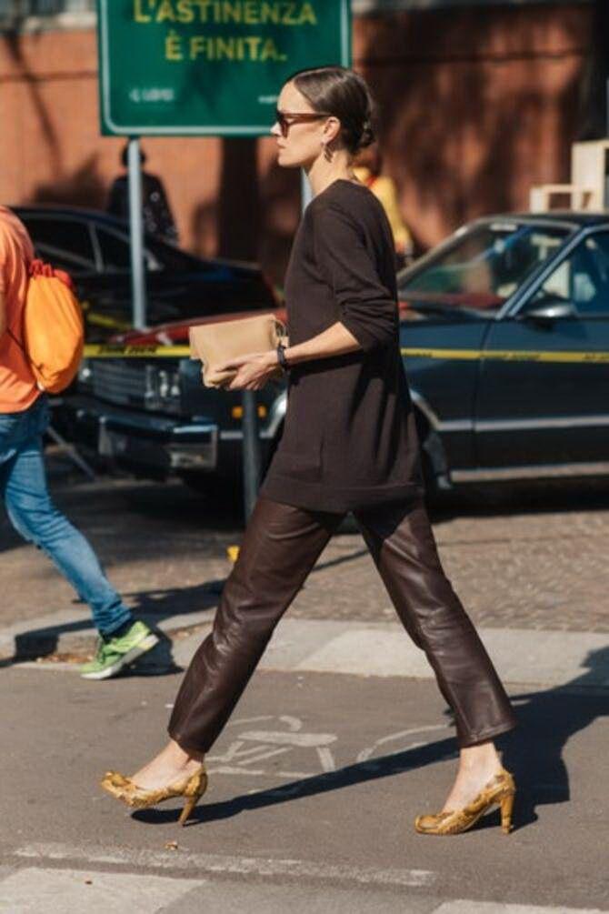 Шоколадні відтінки в моді: як їх носити взимку? 38