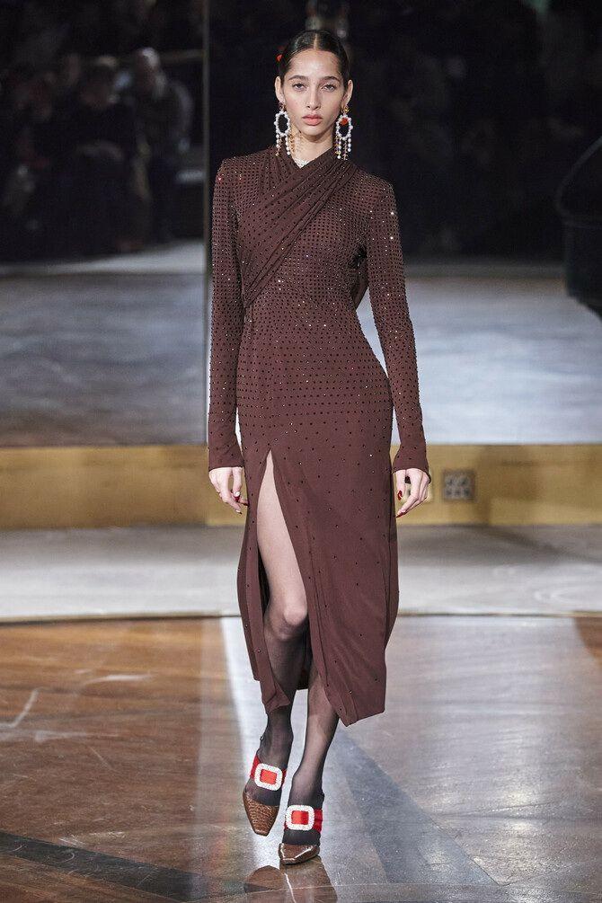 Шоколадні відтінки в моді: як їх носити взимку? 40