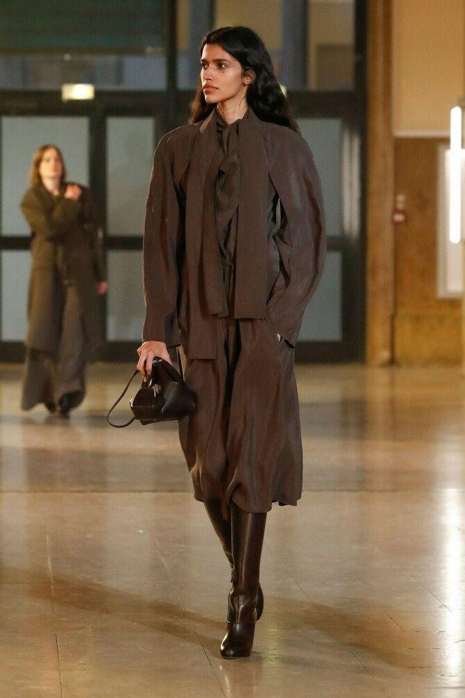 Шоколадні відтінки в моді: як їх носити взимку? 41