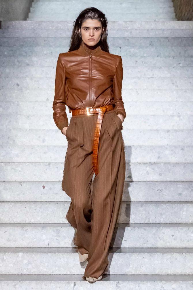 Шоколадні відтінки в моді: як їх носити взимку? 44