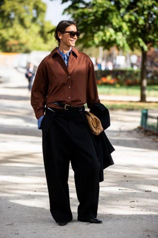 Шоколадні відтінки в моді: як їх носити взимку? 45