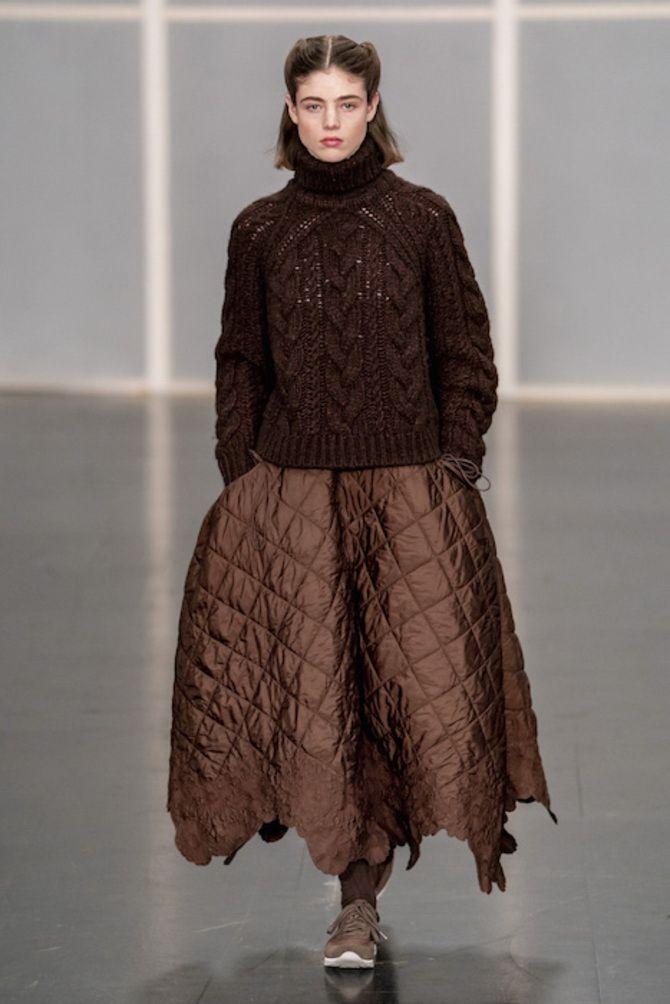 Шоколадні відтінки в моді: як їх носити взимку? 46