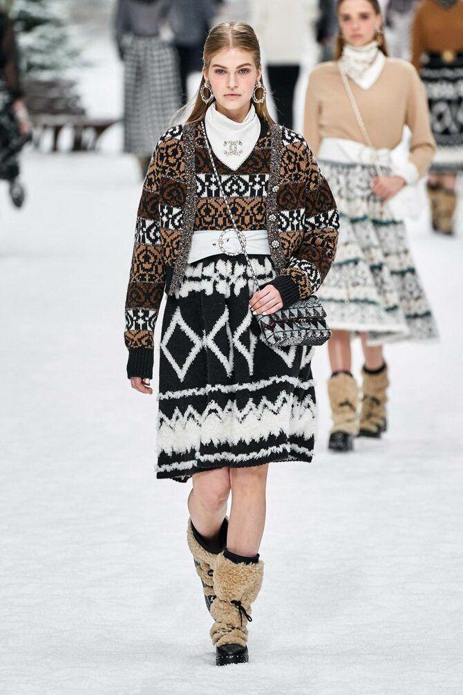 Шоколадні відтінки в моді: як їх носити взимку? 47