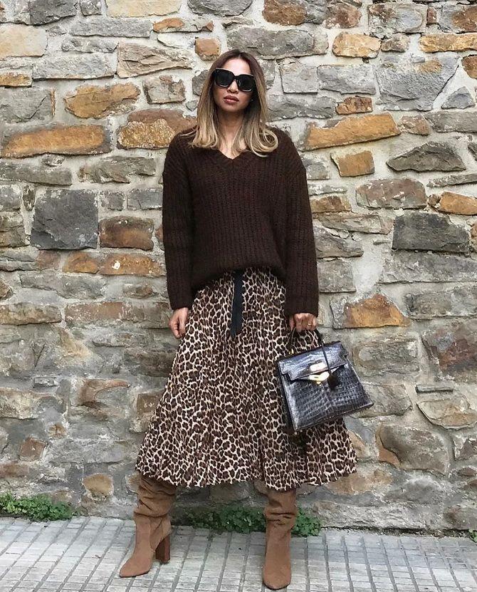 Шоколадні відтінки в моді: як їх носити взимку? 49