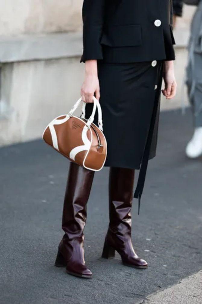 Шоколадні відтінки в моді: як їх носити взимку? 55