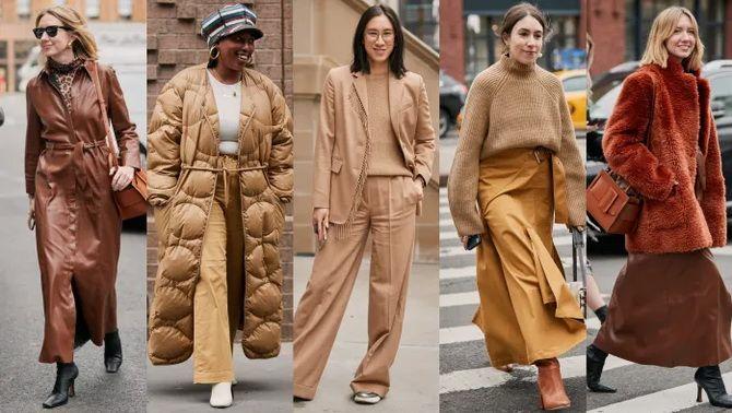 Шоколадні відтінки в моді: як їх носити взимку? 6
