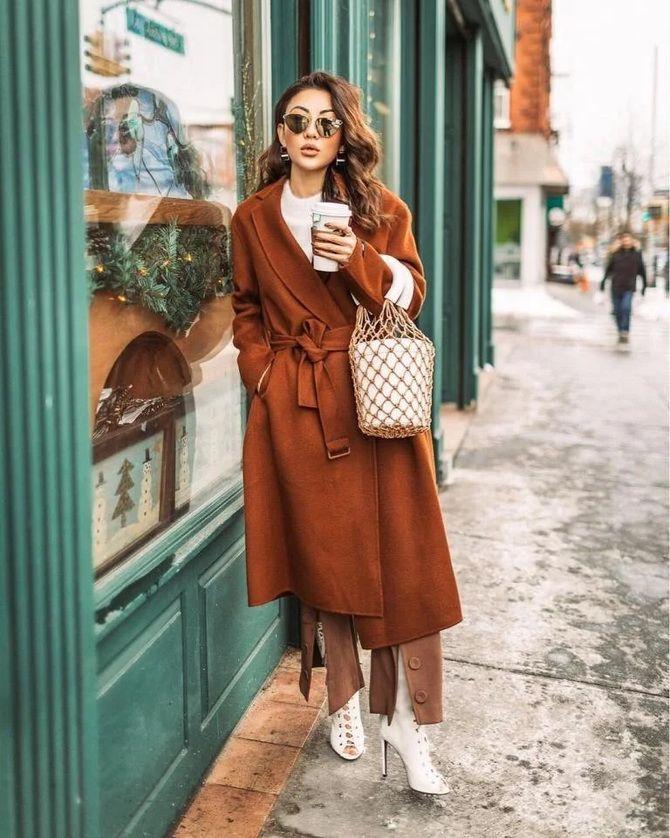 Шоколадні відтінки в моді: як їх носити взимку? 9