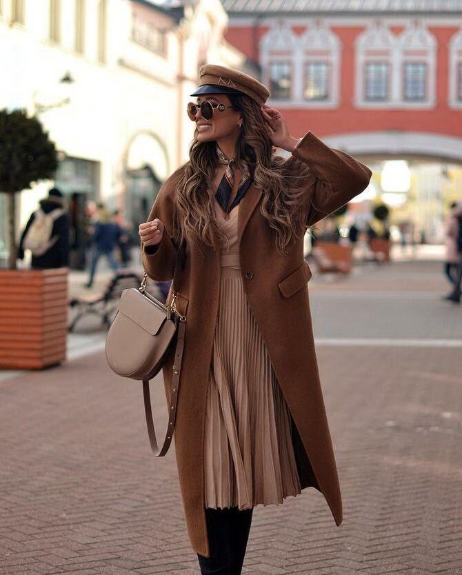 Шоколадні відтінки в моді: як їх носити взимку? 8