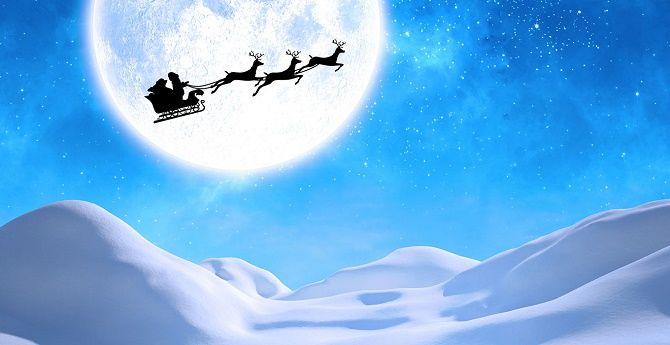 Дуже красиві привітання від Діда Мороза на Новий рік 2