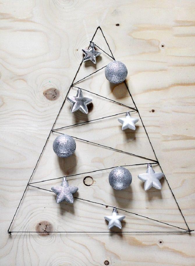 Как сделать необычную елку из проволоки на Новый год 2021: крутые идеи с фото 20