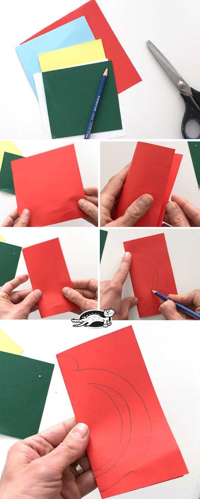 Красиві і незвичайні ялинкові іграшки з паперу – як зробити своїми руками 11