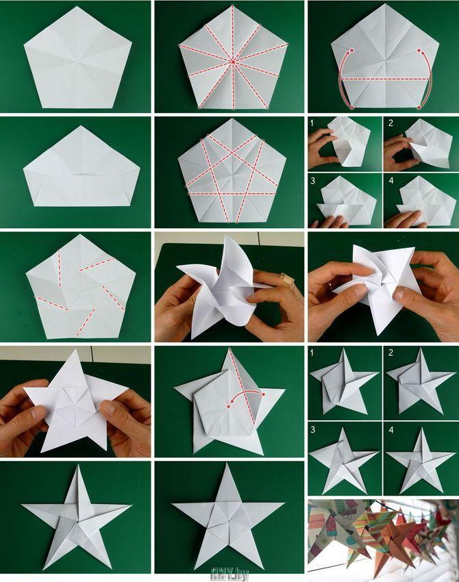 Красиві і незвичайні ялинкові іграшки з паперу – як зробити своїми руками 21
