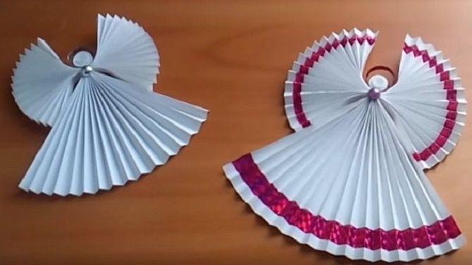 Красиві і незвичайні ялинкові іграшки з паперу – як зробити своїми руками 26