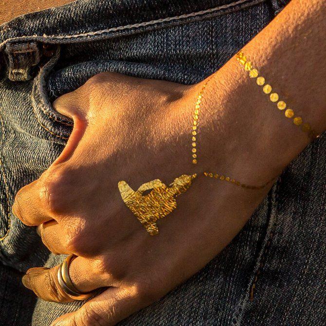 Трендовые flash-tattoos – украшаем тело красивыми росписями 9