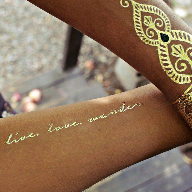 Трендовые flash-tattoos – украшаем тело красивыми росписями 12