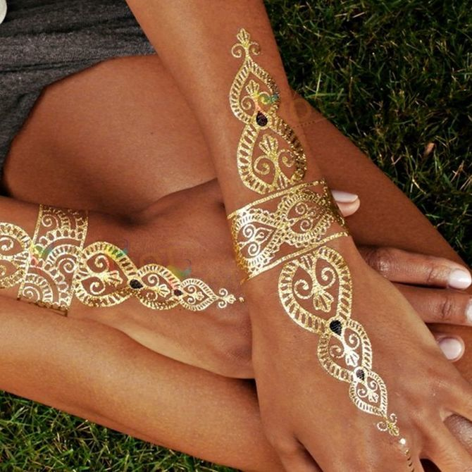Трендовые flash-tattoos – украшаем тело красивыми росписями 13