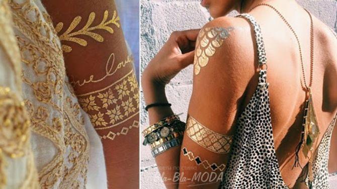 Трендовые flash-tattoos – украшаем тело красивыми росписями 14