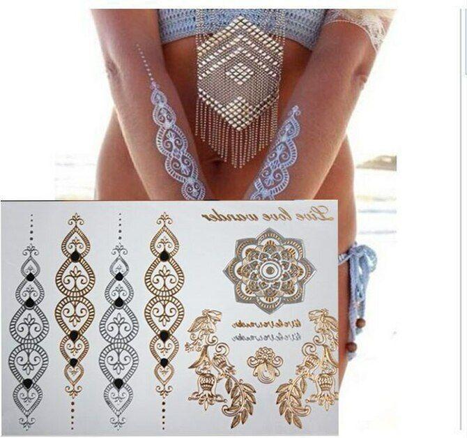 Трендовые flash-tattoos – украшаем тело красивыми росписями 22