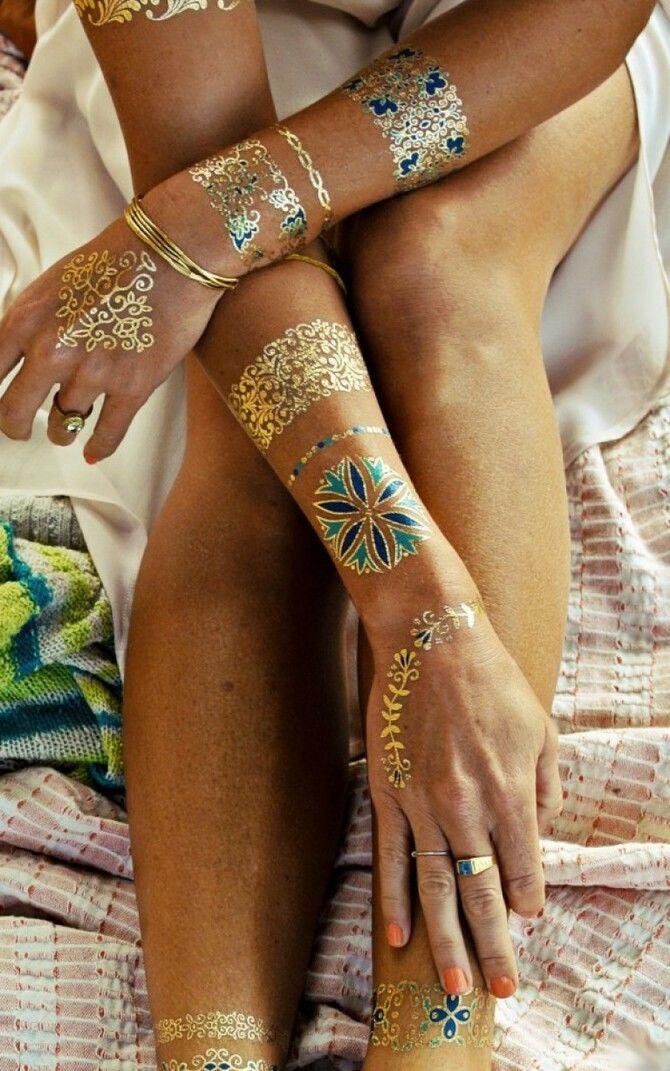 Трендовые flash-tattoos – украшаем тело красивыми росписями 24