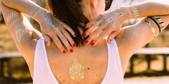 Трендовые flash-tattoos – украшаем тело красивыми росписями 25
