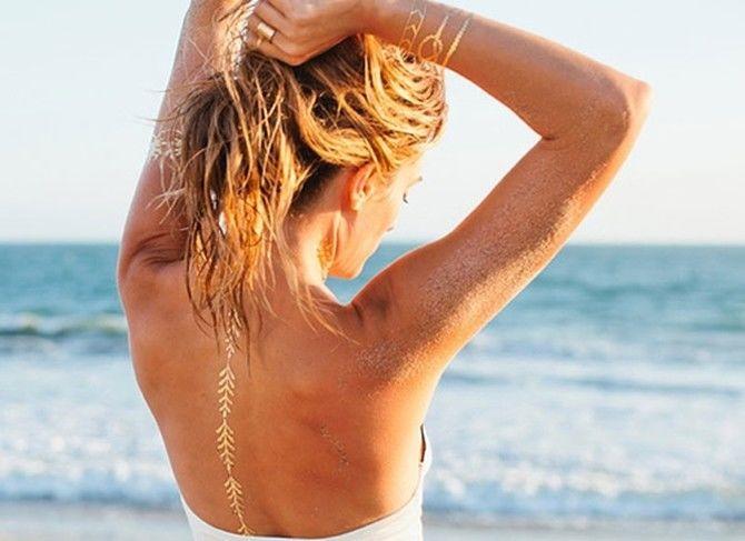 Трендовые flash-tattoos – украшаем тело красивыми росписями 26
