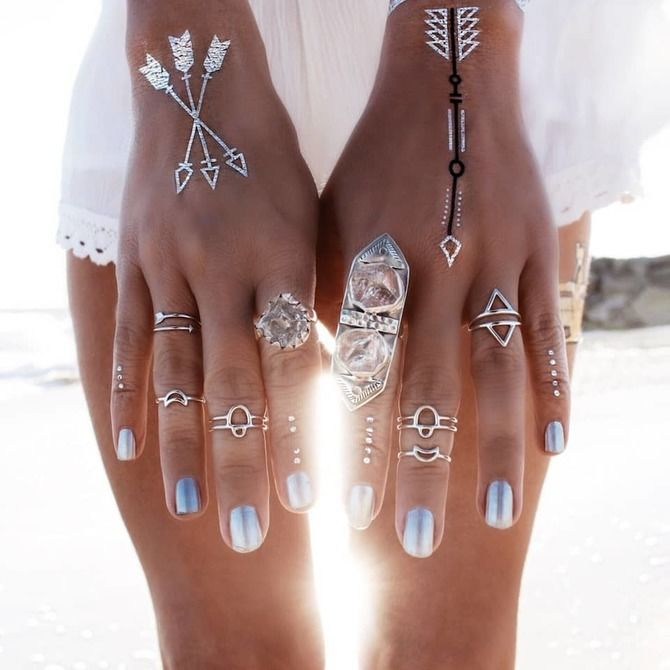 Трендовые flash-tattoos – украшаем тело красивыми росписями 34