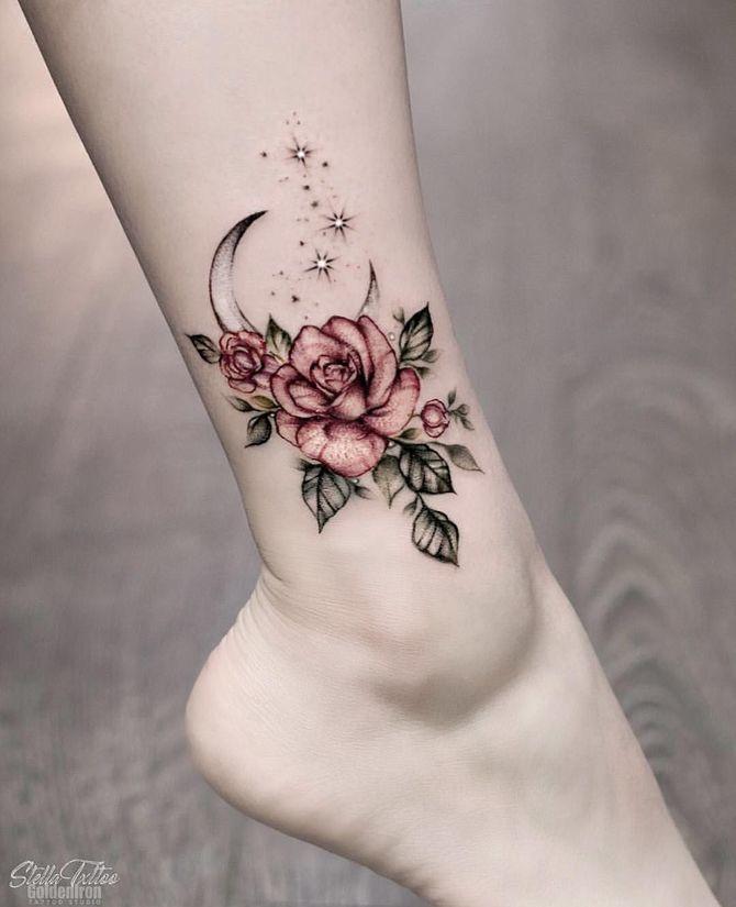 Трендовые flash-tattoos – украшаем тело красивыми росписями 40
