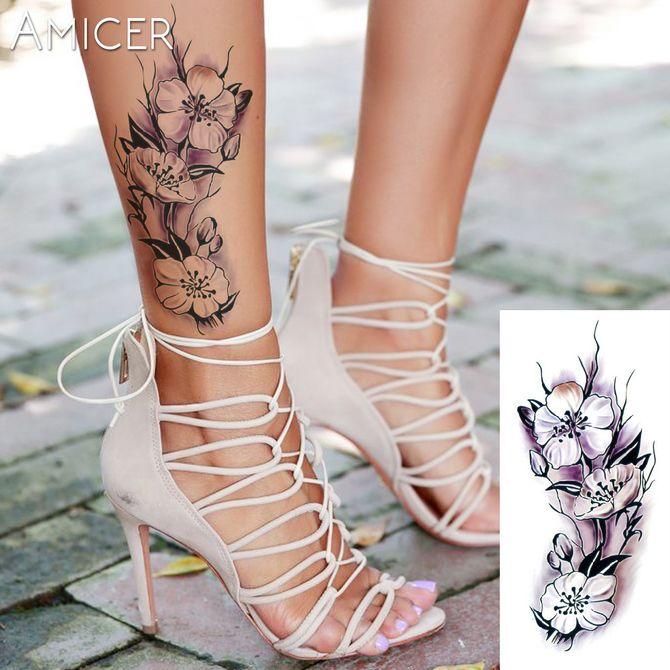 Трендовые flash-tattoos – украшаем тело красивыми росписями 42